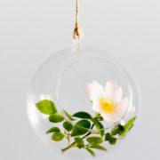 pomysłowa panna młoda - dekoracja - wisząca kula