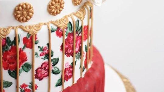 pomysłowa panna młoda spiżarnia ślubna, tort weselny