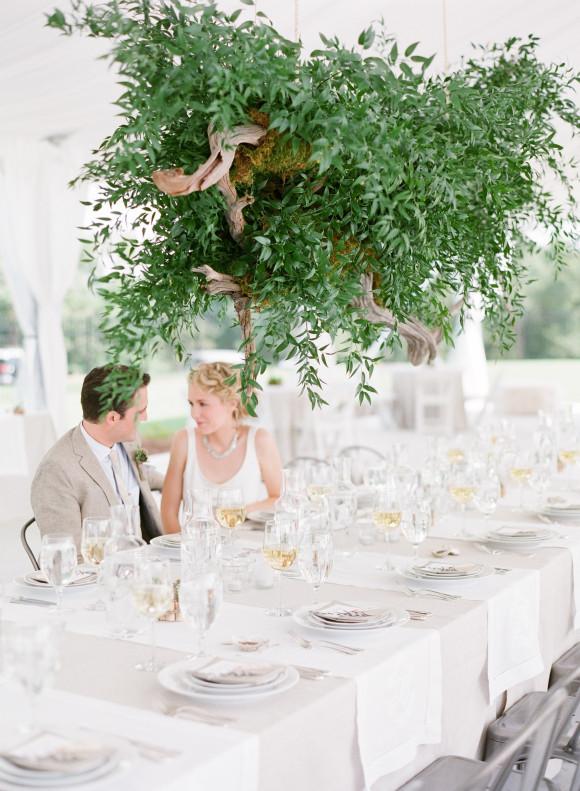 pomysłowa panna młoda, greenery wedding,