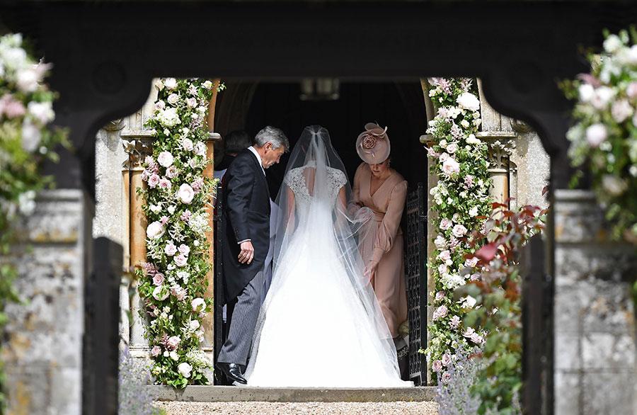 pomysłowa Panna Młoda-ślub w brytyjskim stylu! Pippa Middleton wyszła za mąż !